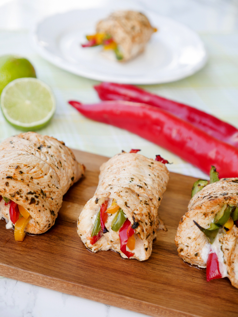 Weight Watchers Chicken Fajita Röllchen für 2 SmartPoints