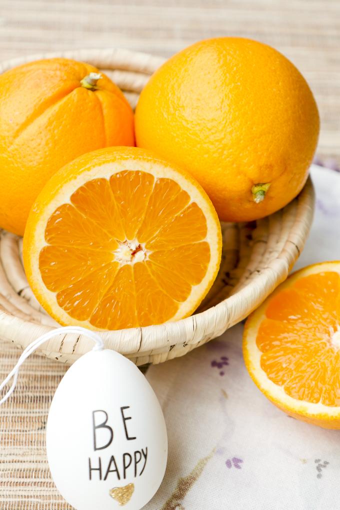 Frische Bio Orangen als Zutat für meinen Orangen-Smoothie