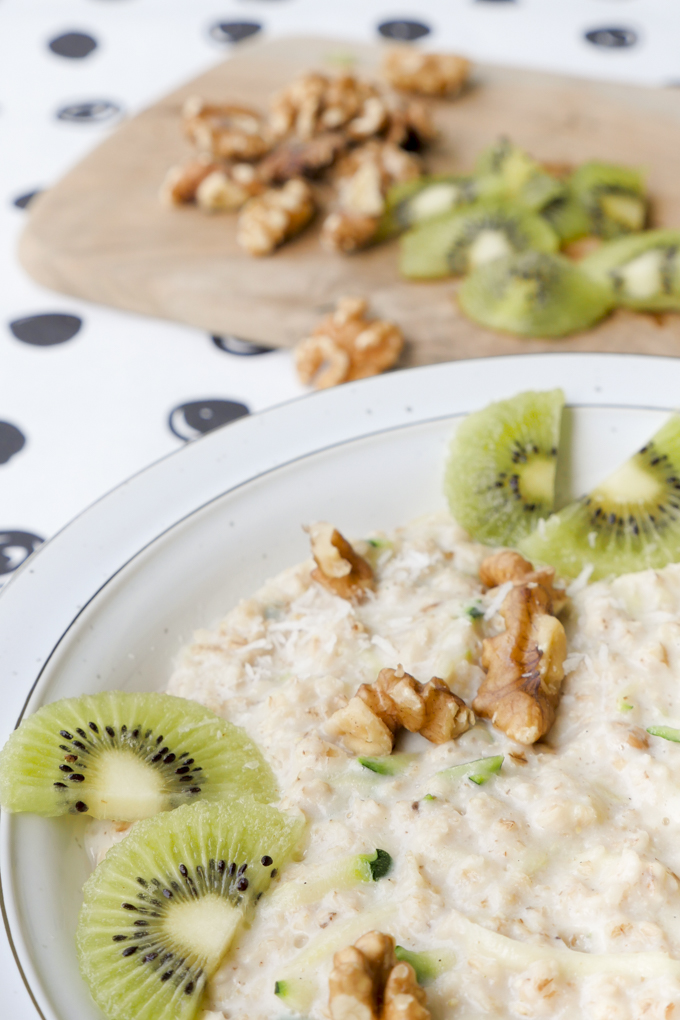 Zucchini Oats - der neue Frühstückstrend für alle Fit-Foodies