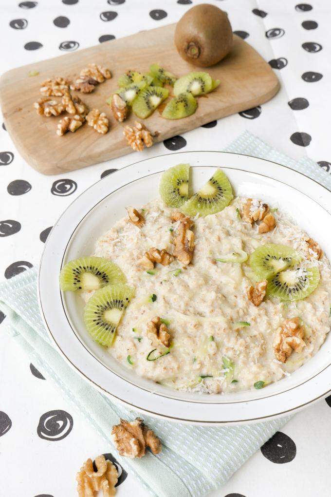 Zucchini Oats - das gesunde Frühstück für die ganze Familie