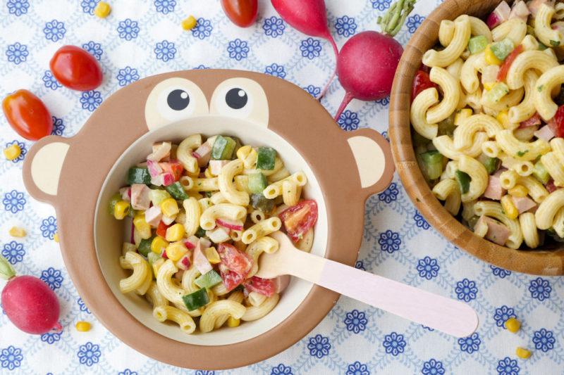Der Beste Nudelsalat Für Kinder Mit Schneller Milch Mayonnaise