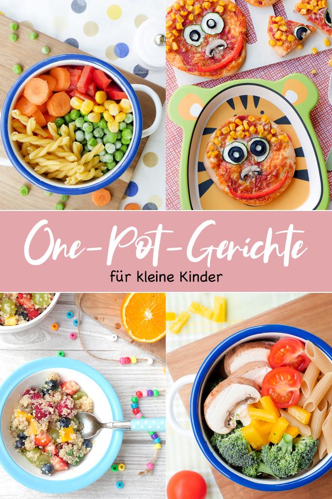 One-Pot-Gerichte für kleine Kinder - das Kinder-Kochbuch von Steffi Sinzenich mit vielen schnellen One Pot Rezepten, die kleinen Kindern schmecken