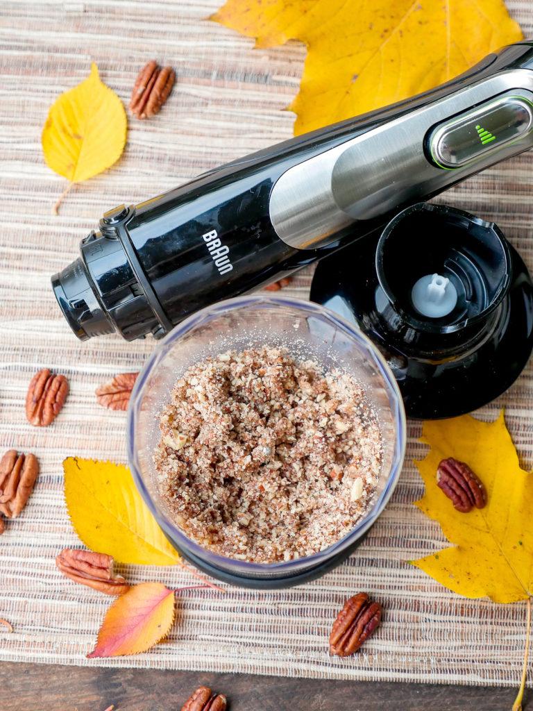 Nüsse hacken mit dem Braun Multiquick 9