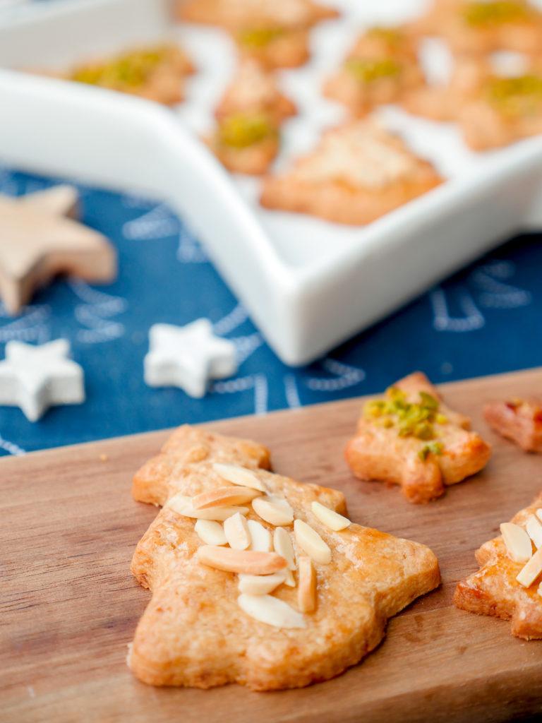 Weihnachtsplätzchen für Kinder mit Dinkelmehl