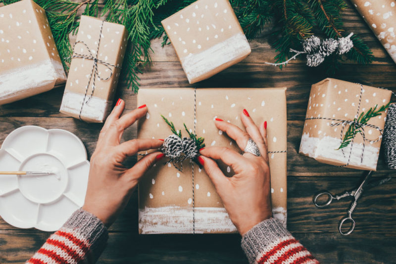 Weihnachtsgeschenk von 2 Monaten