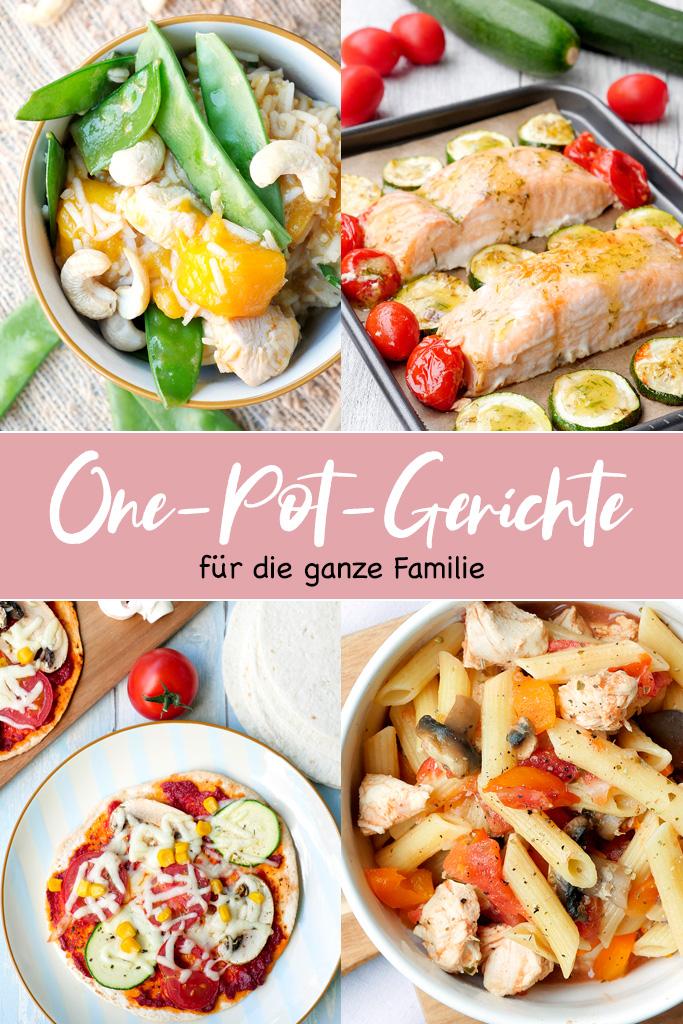 One-Pot-Gerichte für die Familie - Das Familien-Kochbuch von Steffi Sinzenich mit schnellen und gesunden Rezepten für Groß und Klein