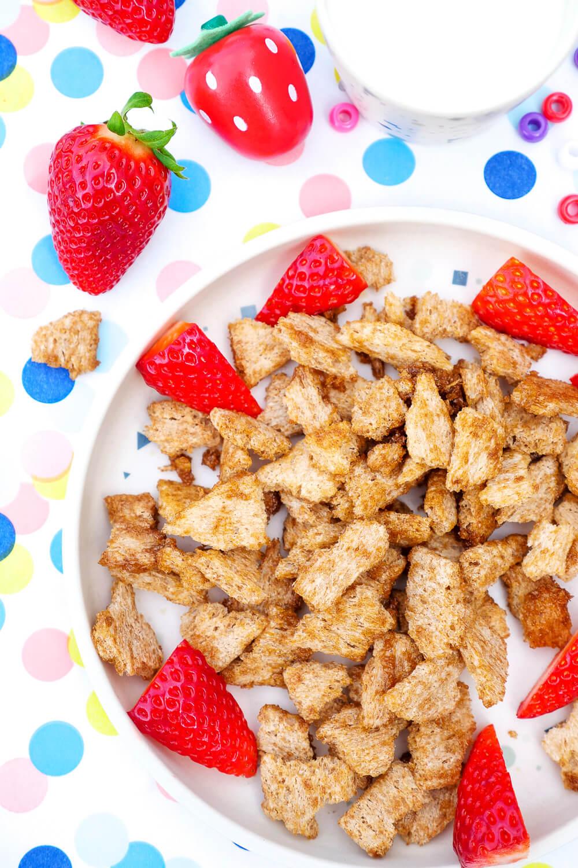 Knusperflakes mit Zimt - die gesunde und schnelle 3-Zutaten-Alternative zu Cini Minis