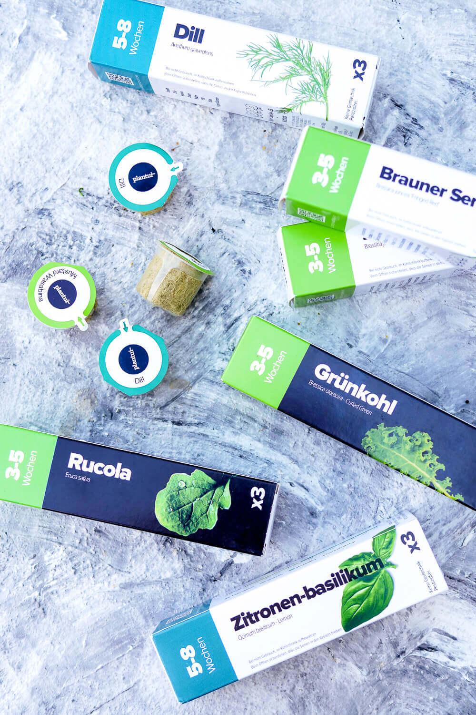 Werbung. Kräuterkapseln für den Bosch SmartGrow Indoor-Kräutergarten
