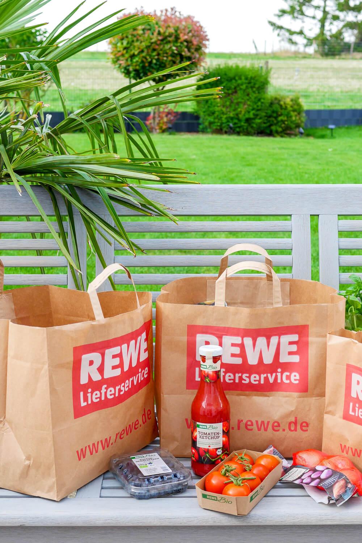 Werbung. Meine Bestellung im REWE Online-Shop - Erfahrung