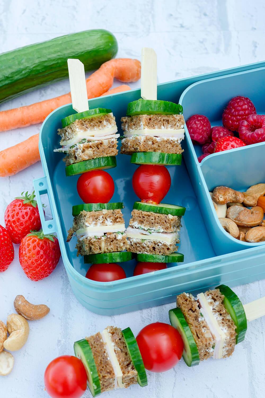 Gesundes Kinder Lunchbox Rezept für das Frückstück im Kindergarten