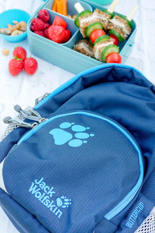 Werbung. Jack Wolfskin Kinder-Rucksack für den Kindergarten aus dem REWE Online-Shop