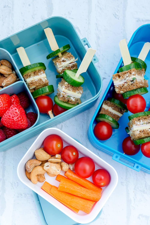 Werbung. Startklar für den Kindergarten mit tollen Brotdosen von Mepal aus dem REWE Online-Shop - aus Rezept für eine leckere Kinder-Lunchbox