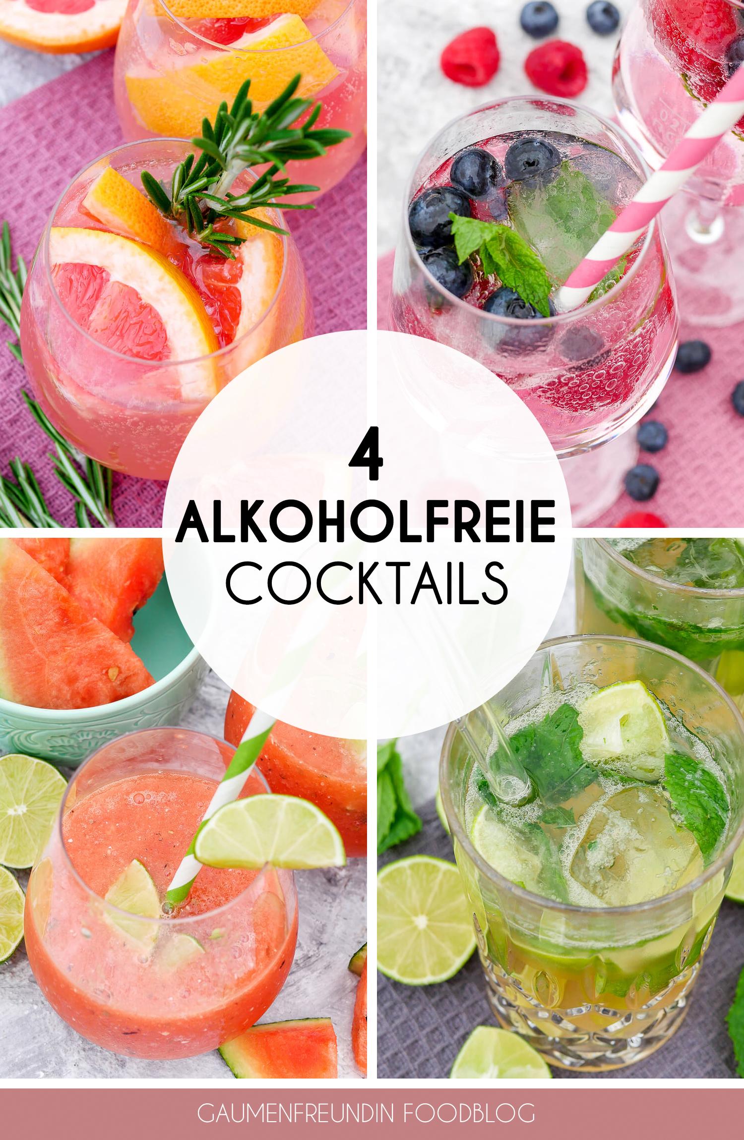 Vier Schnelle Alkoholfreie Cocktails Erfrischend Und Lecker