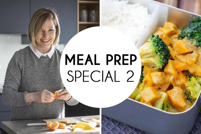 Wochenplaner, Einkaufsliste und Rezepte für dein Meal Prep - Einfach, gesund und lecker