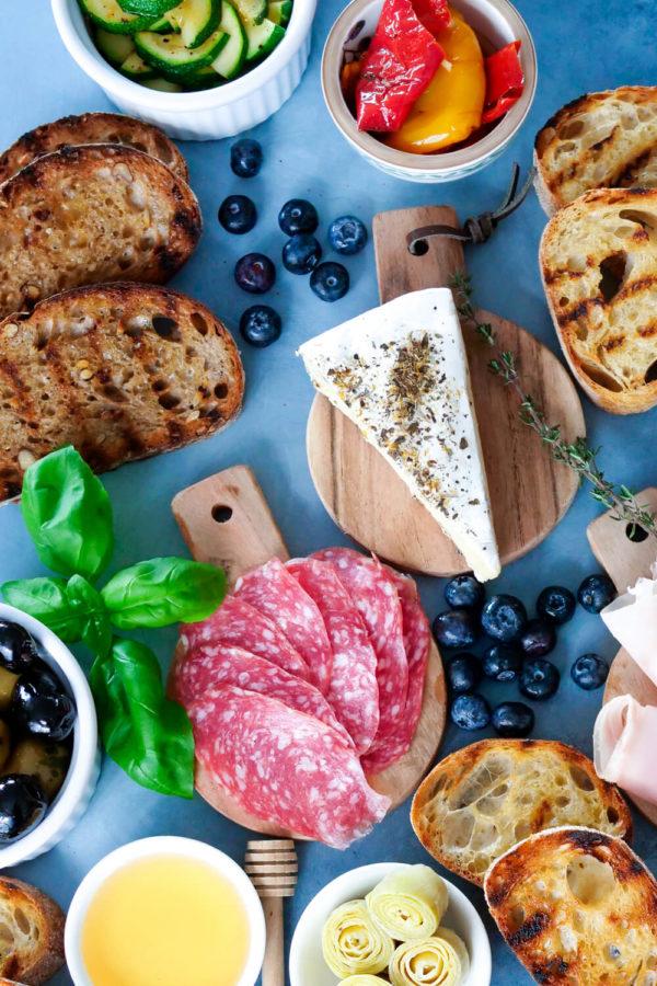 Bruschetta Bar statt Käseplatte - Perfekt für das Buffet