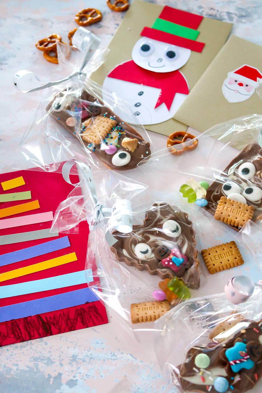 Schokolade selber machen mit Kindern - eine schöne Geschenkidee für die besten Freunde