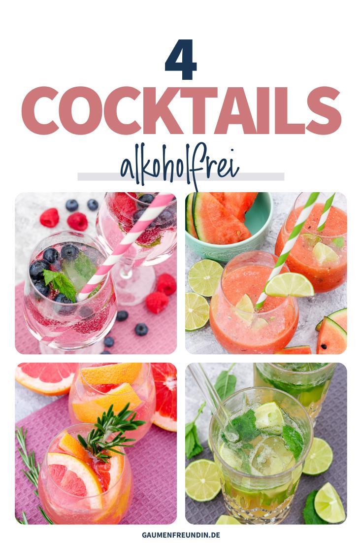 4 Rezepte für alkoholfreie Cocktails mit Beeren