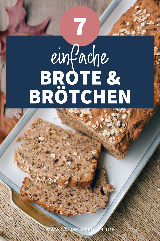 7 einfache Brot und Brötchen Rezepte wie mein Dinkelvollkornbrot