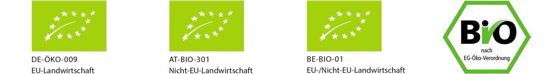 Deutsches und EU-Biosiegel