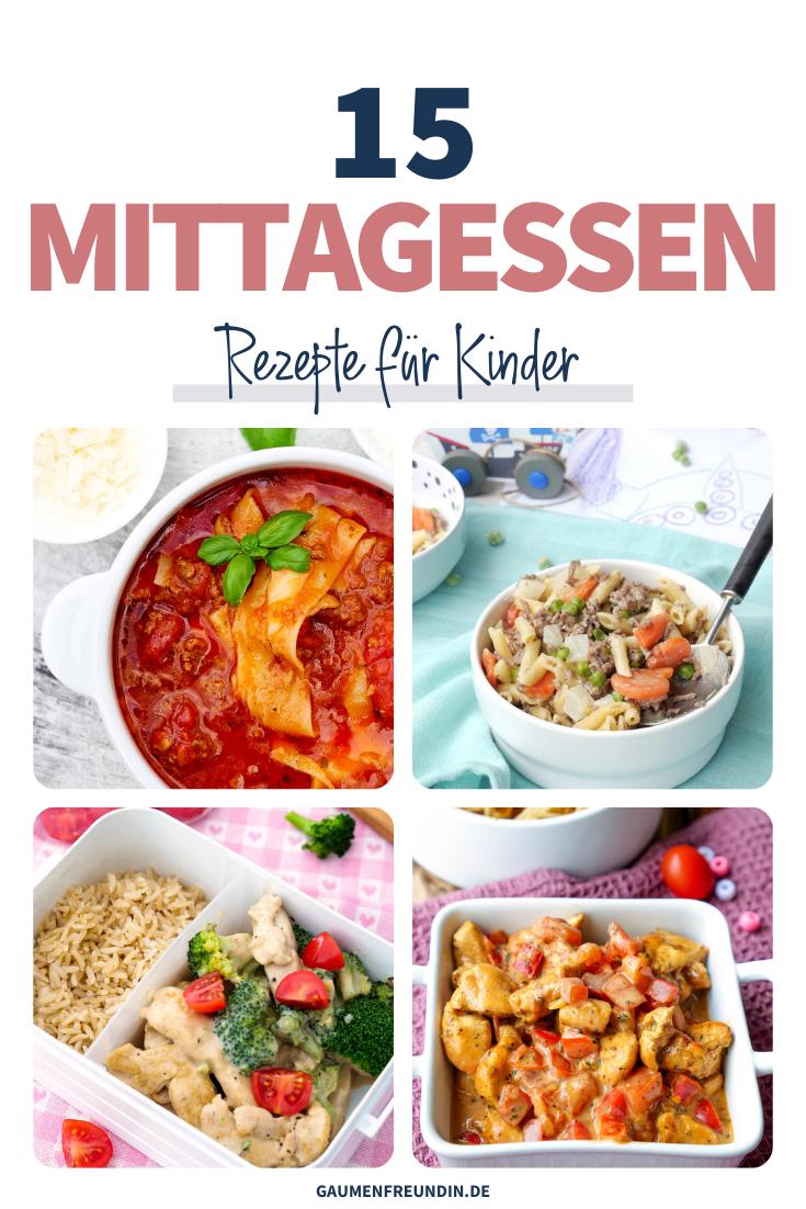 15 Mittagessen Rezepte für Kinder, wie die Lasagnesuppe oder die Hähnchen-Paprika-Pfanne