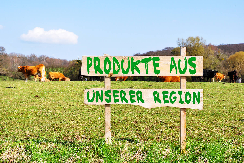 Wie regional soll Ernährung sein? - Produkte aus unserer Region