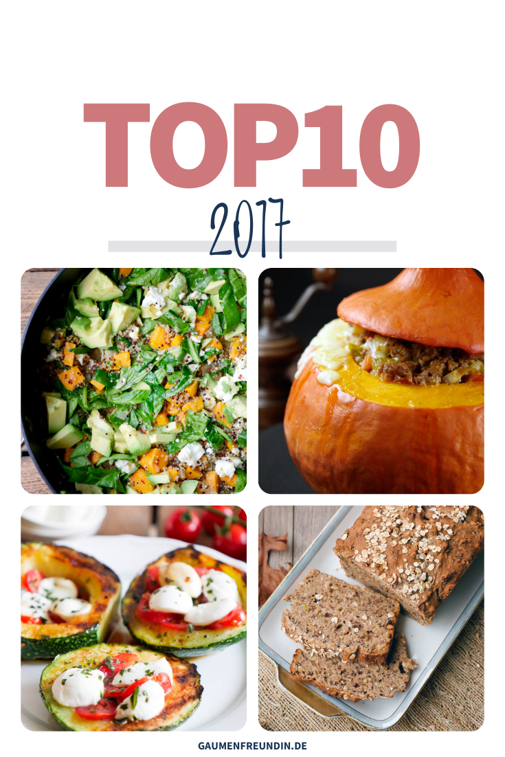 TOP10 Rezepte 2017
