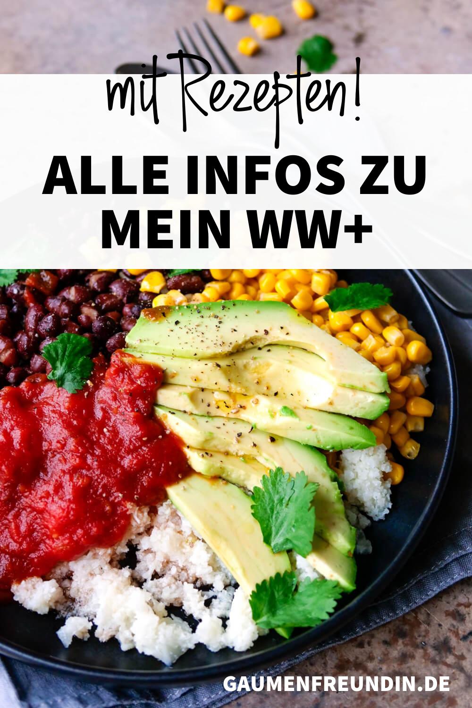 Mein WW+ - Alle Infos und Rezepte, wie die Burrito Bowl mit Avocado