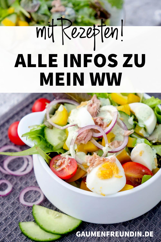 Mein WW+ - Alle Infos und Rezepte, wie den Thunfisch Salat mit Ei