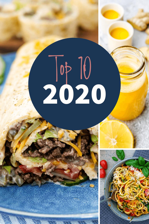 Top10 Rezepte 2020 von Gaumenfreundin