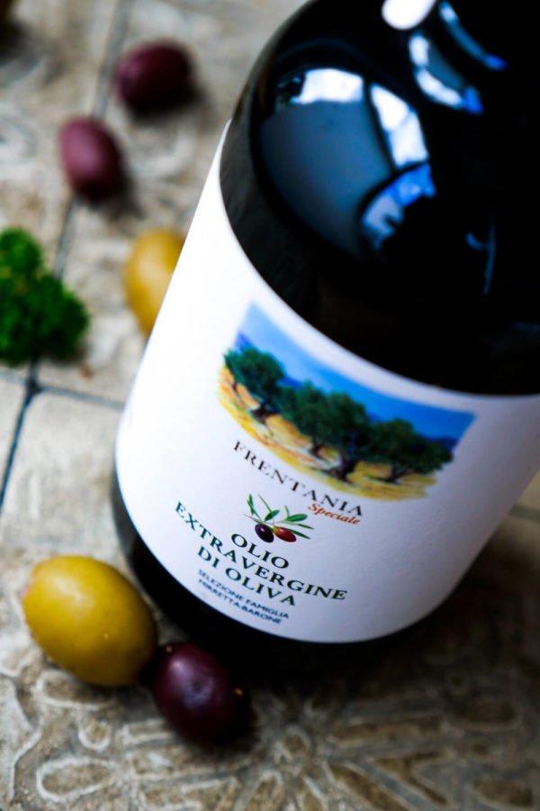Frentania Olivenöl von Famiglia Mirretta-Barone