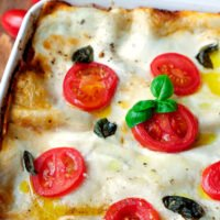 Jamie Oliver Lasagne-Rezept mit Hackfleisch, Tomaten und Parmesan