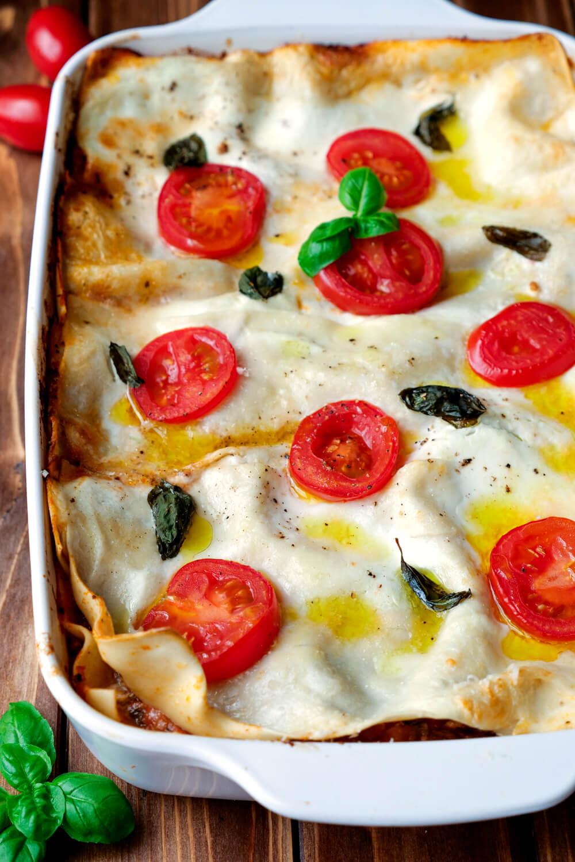 Lasagne mit Hackfleisch selber machen