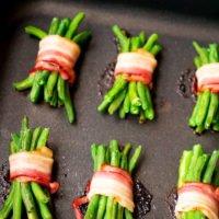 Speckbohnen im Ofen zubereiten